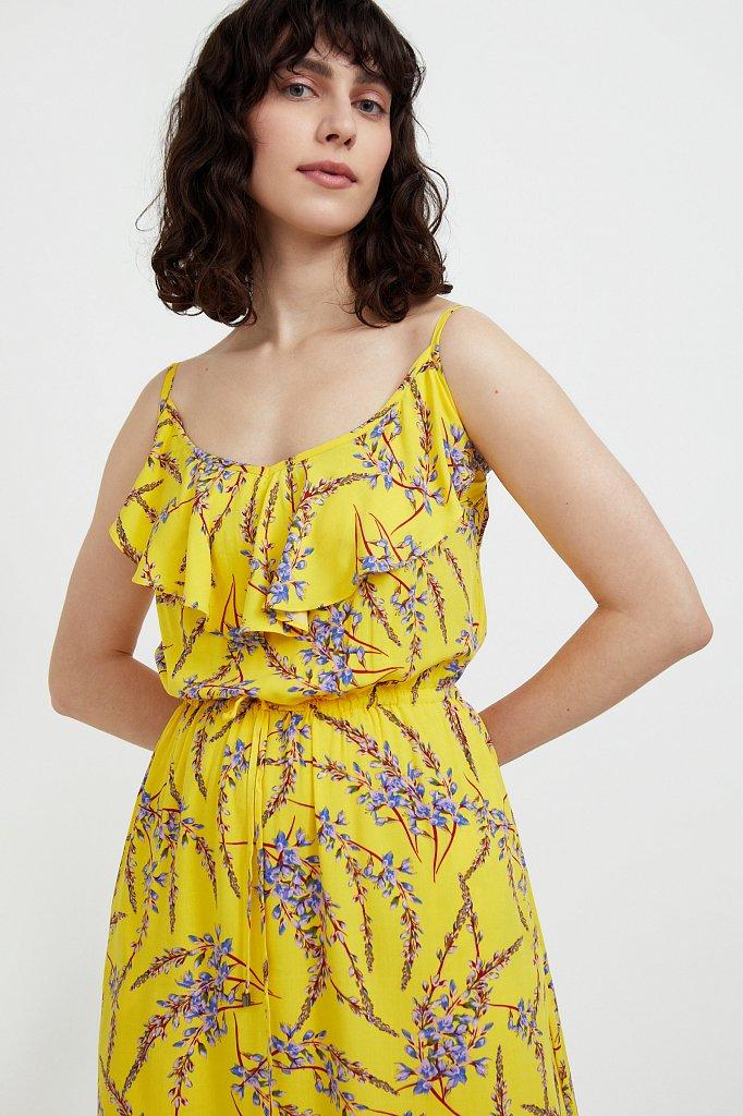 Сарафан с цветочным принтом, Модель S21-110105, Фото №6