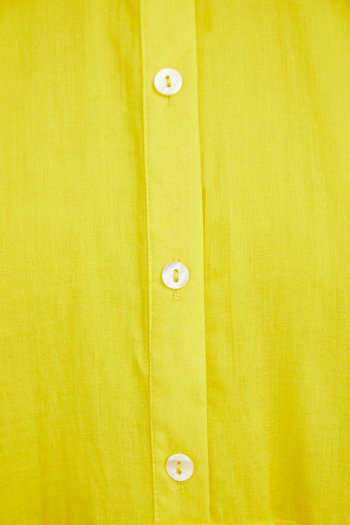 Платье миди из хлопка, Модель S21-11069, Фото №5