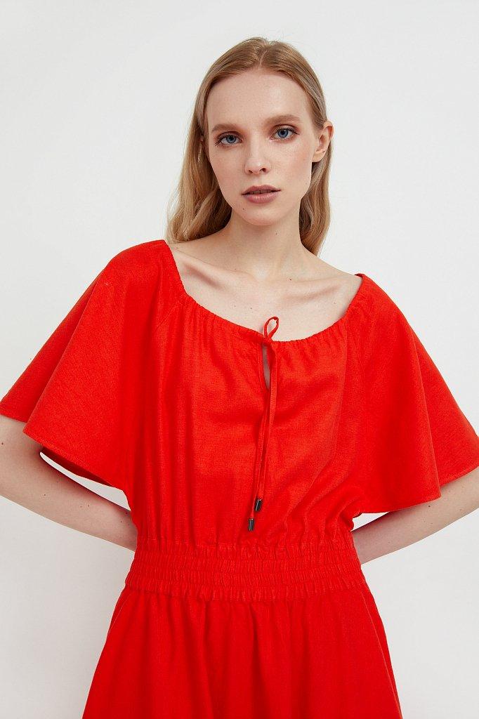 Приталенное платье-макси, Модель S21-12018, Фото №6