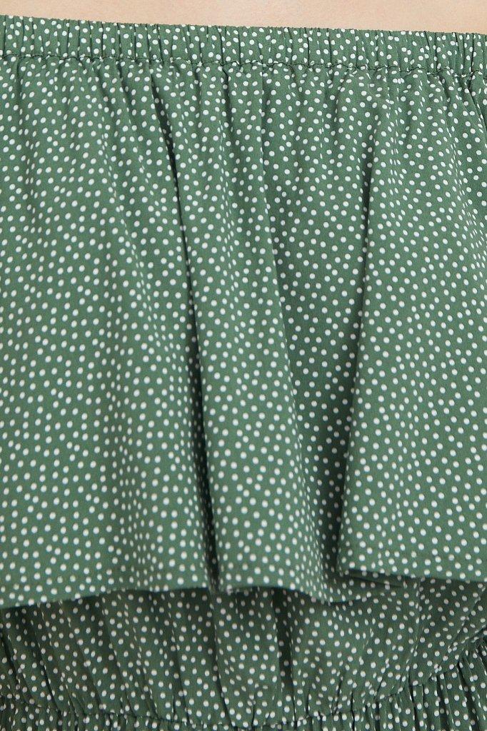 Приталенное платье с принтом, Модель S21-110106, Фото №5
