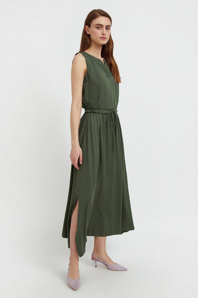 Платье макси без рукавов, Модель S21-12092, Фото №1