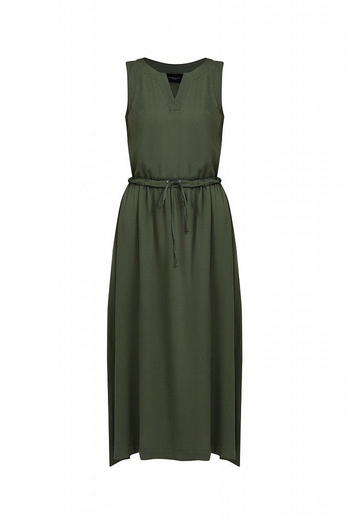 Платье макси без рукавов, Модель S21-12092, Фото №8
