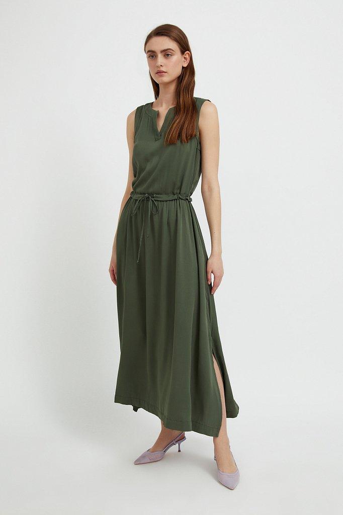 Платье макси без рукавов, Модель S21-12092, Фото №4