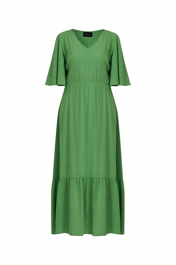Платье макси из вискозы, Модель S21-14009, Фото №7