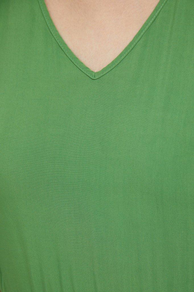 Платье макси из вискозы, Модель S21-14009, Фото №5