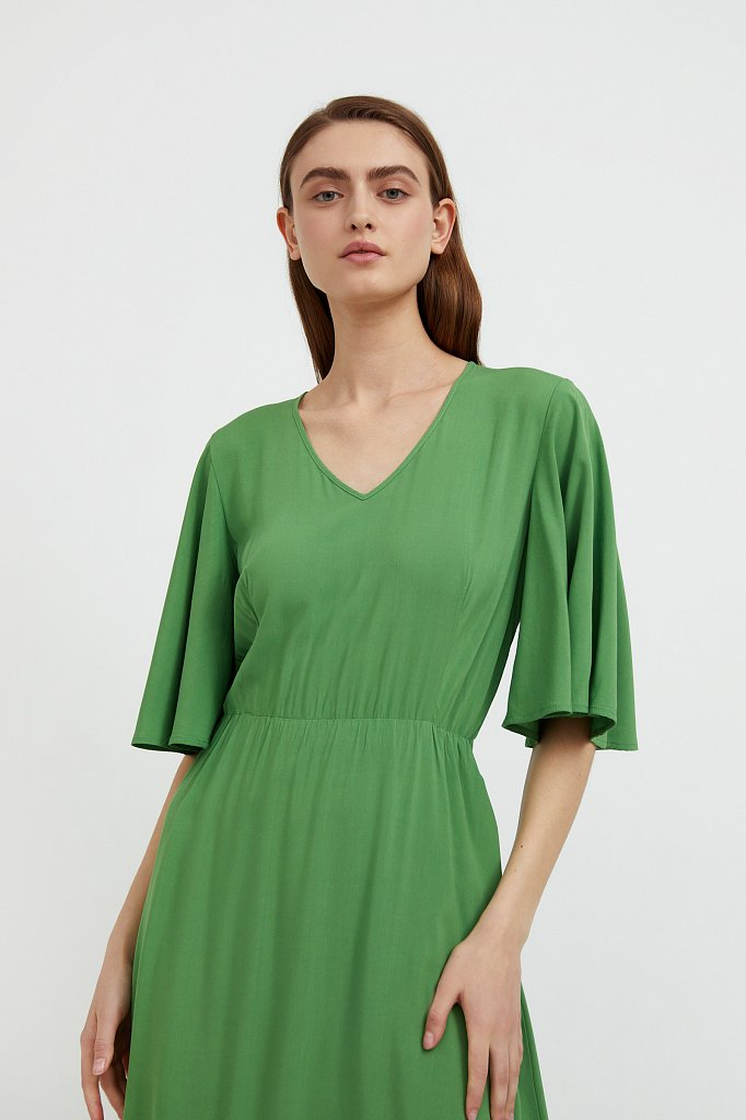 Платье макси из вискозы, Модель S21-14009, Фото №6