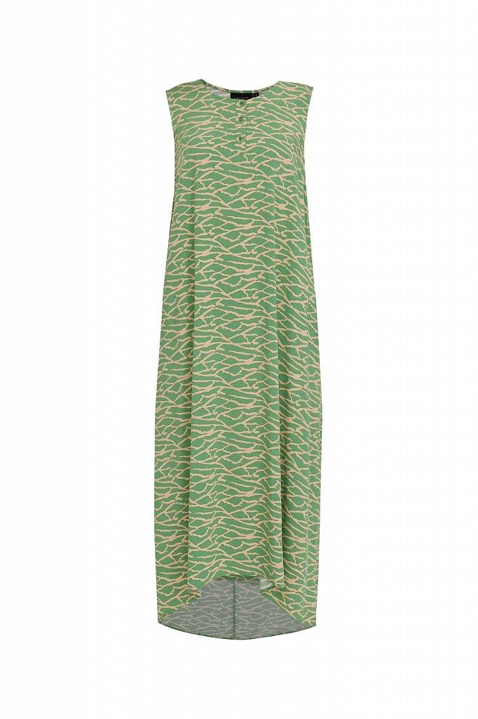 Асимметричное платье макси, Модель S21-14074, Фото №7