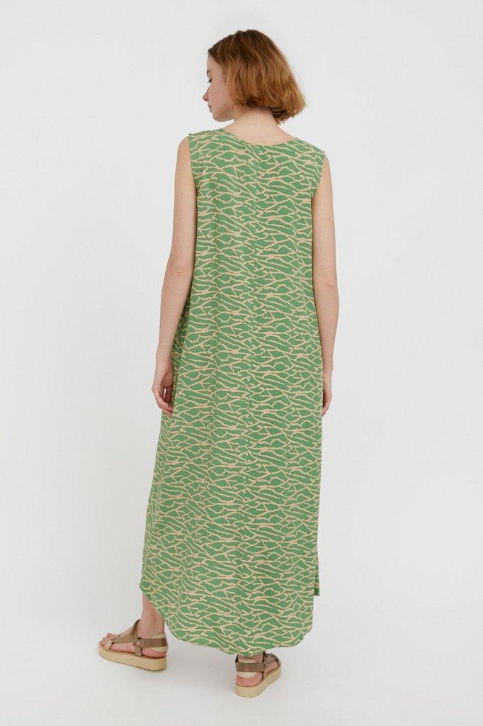 Асимметричное платье макси, Модель S21-14074, Фото №4