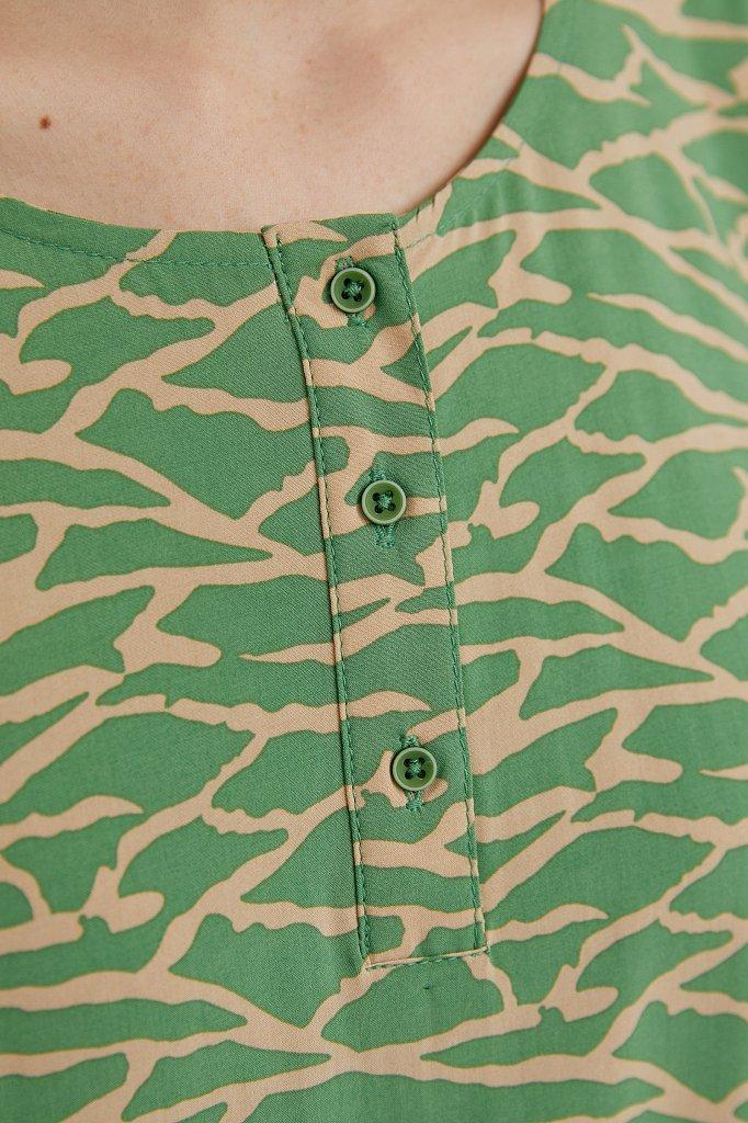 Асимметричное платье макси, Модель S21-14074, Фото №5