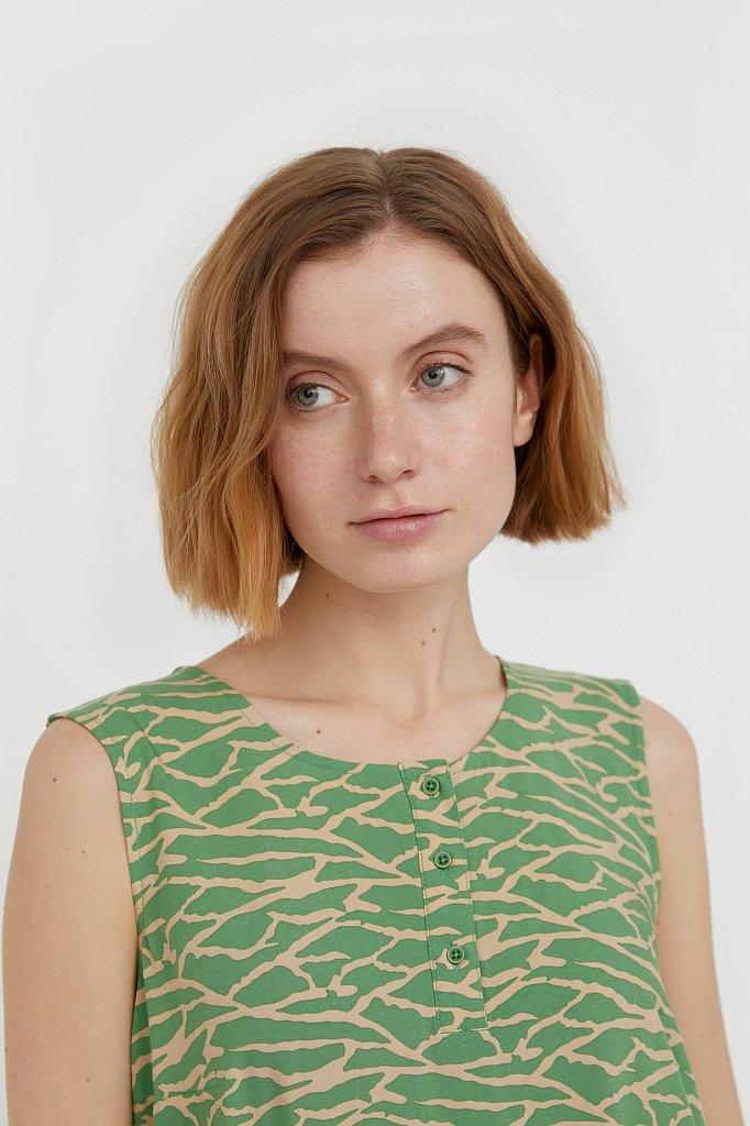 Асимметричное платье макси, Модель S21-14074, Фото №6