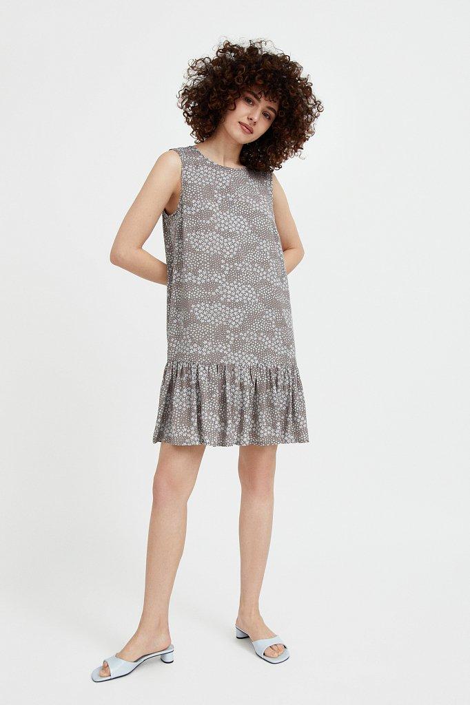 Платье мини с принтом, Модель S21-120100, Фото №2