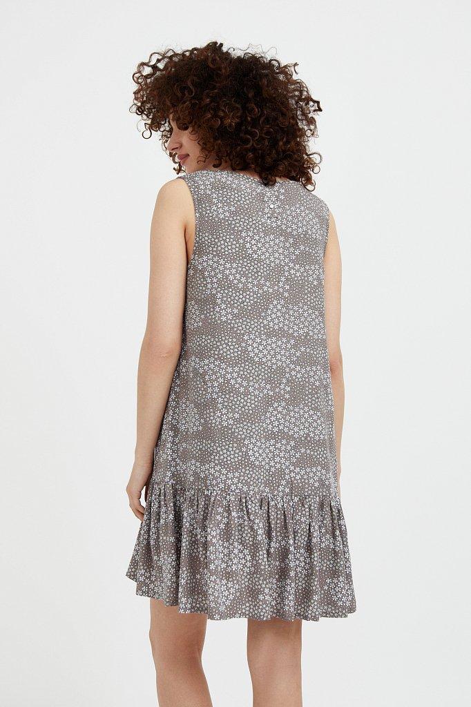 Платье мини с принтом, Модель S21-120100, Фото №4