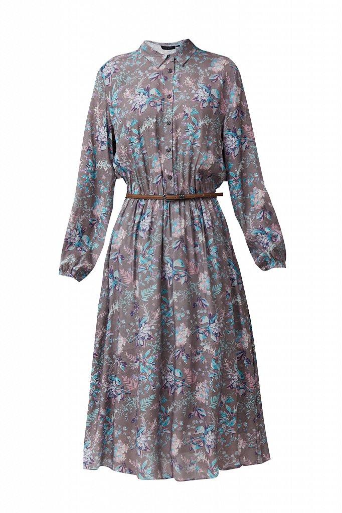 Платье миди с цветочным принтом, Модель S21-12014, Фото №7
