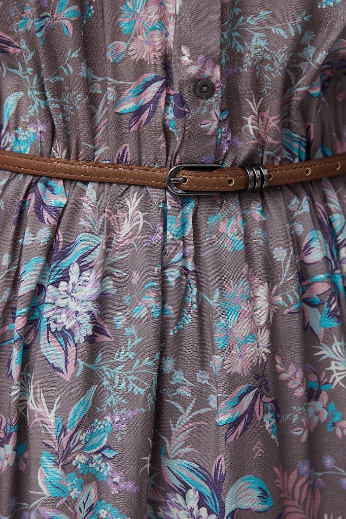 Платье миди с цветочным принтом, Модель S21-12014, Фото №6