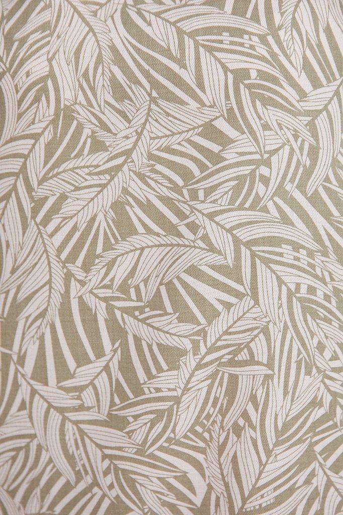 Прямое платье с растительным узором, Модель S21-14086, Фото №5