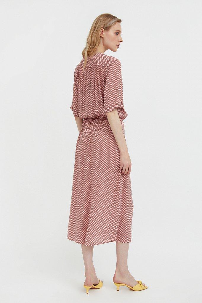 Платье-миди с принтом, Модель S21-14085, Фото №5