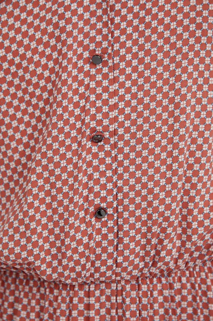 Платье-миди с принтом, Модель S21-14085, Фото №6
