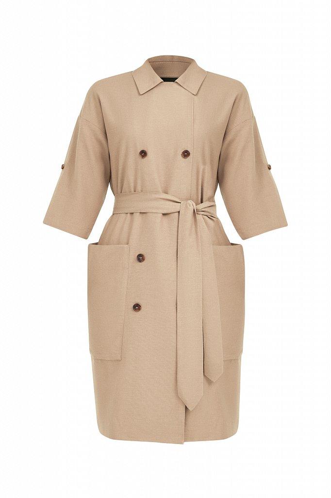Платье-жакет с поясом, Модель S21-11063, Фото №7