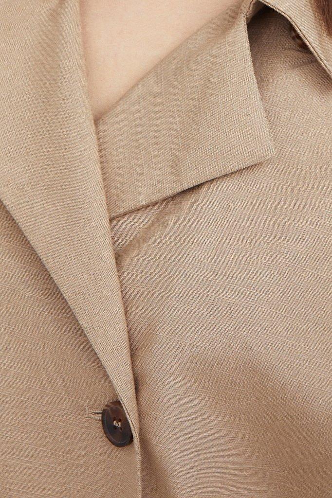 Платье-жакет с поясом, Модель S21-11063, Фото №5