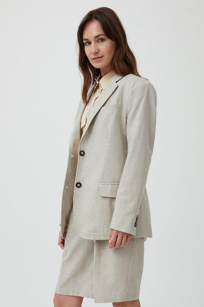 Жакет женский, Модель S21-11036, Фото №3