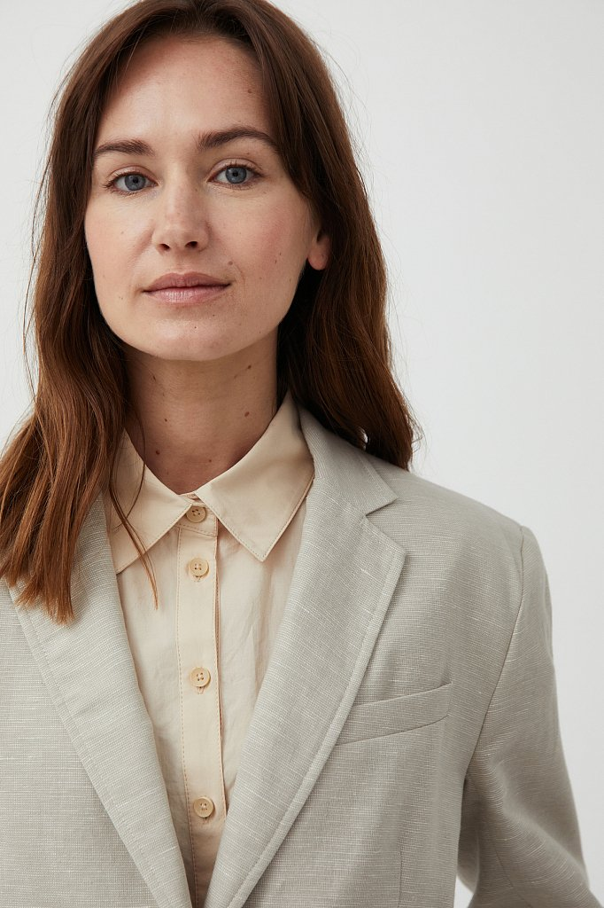 Жакет женский, Модель S21-11036, Фото №5
