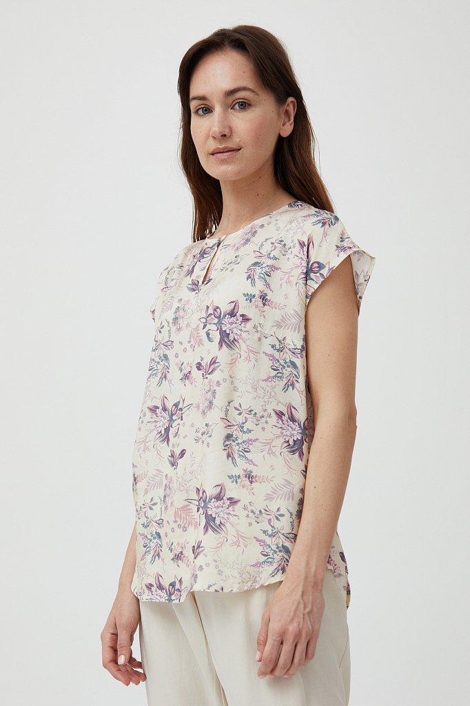 Блузка женская, Модель S21-12009, Фото №3