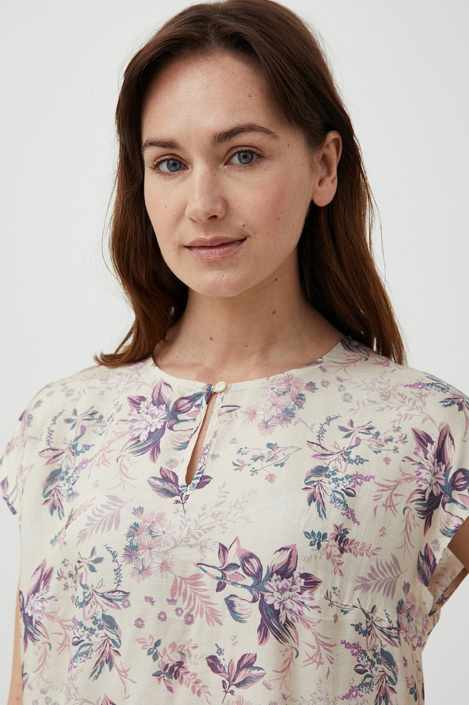 Блузка женская, Модель S21-12009, Фото №5