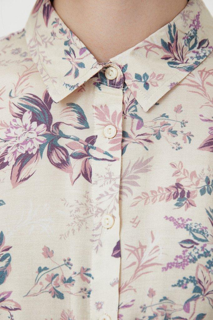 Платье миди с цветочным принтом, Модель S21-12014, Фото №5