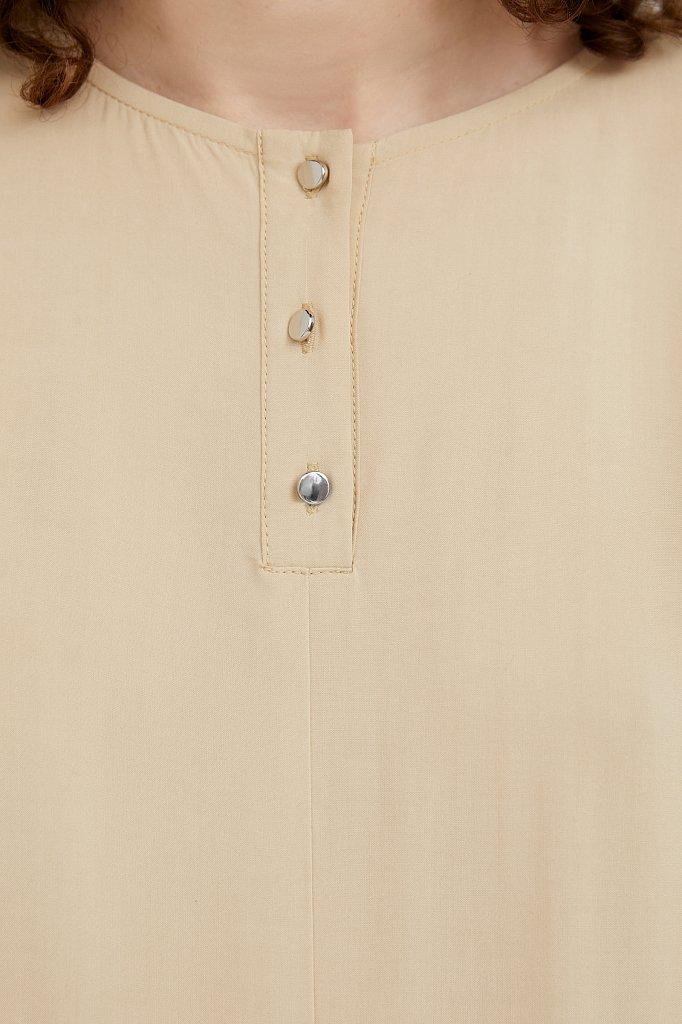 Платье-макси с асимметричными воланами, Модель S21-11078, Фото №5