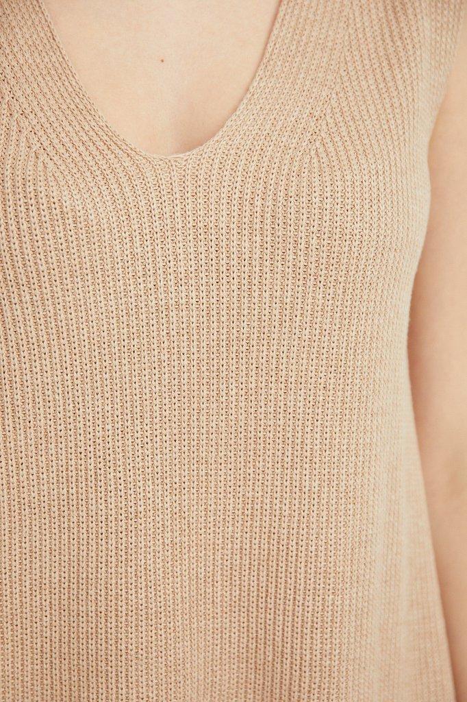 Жилет женский, Модель S21-11101, Фото №5