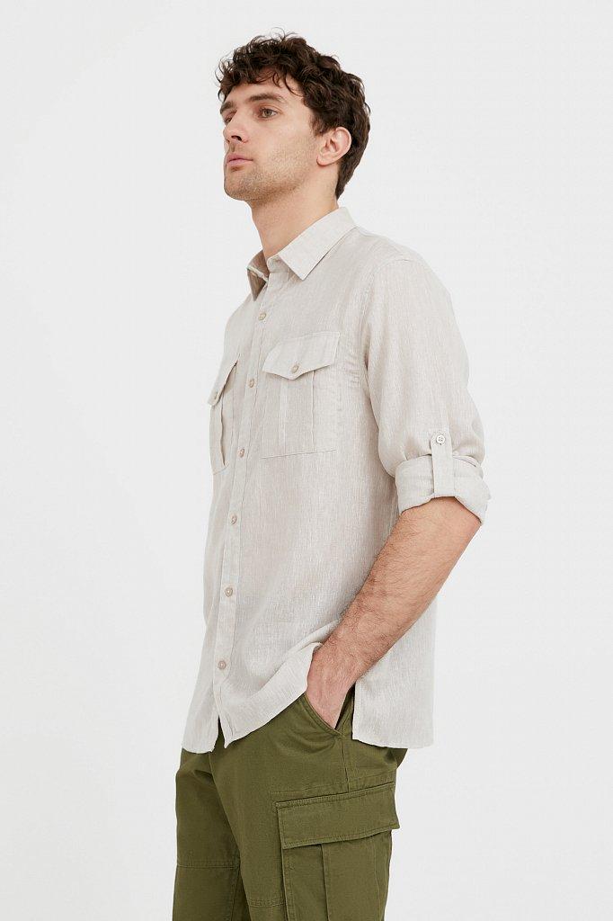 Рубашка мужская, Модель S21-21015, Фото №1