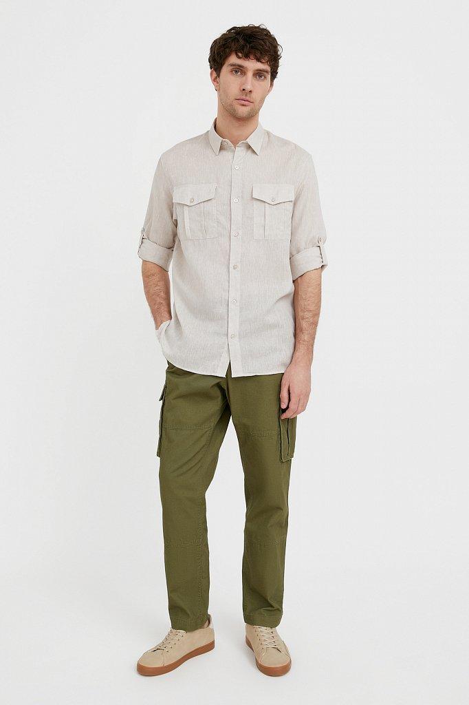 Рубашка мужская, Модель S21-21015, Фото №3