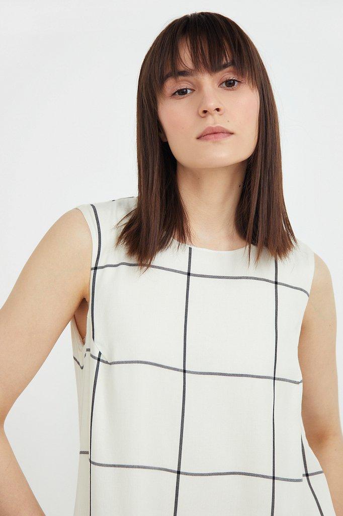 Платье с геометричным принтом, Модель S21-14049, Фото №6
