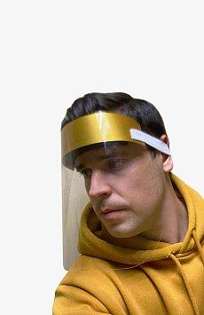 Экран защитный для лица, Модель SCR-01, Фото №1