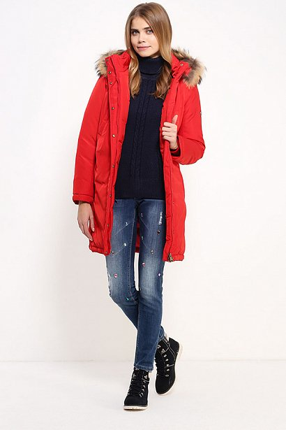 Пальто женское, Модель W16-12027, Фото №2