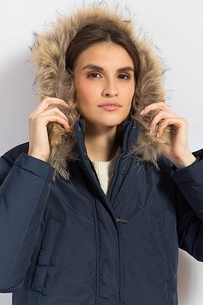 Пальто женское, Модель W17-12026, Фото №6