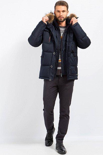 Пуховик мужской, Модель W17-22008, Фото №3