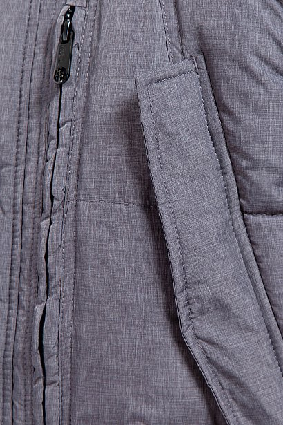 Пуховик мужской, Модель W17-21011, Фото №7