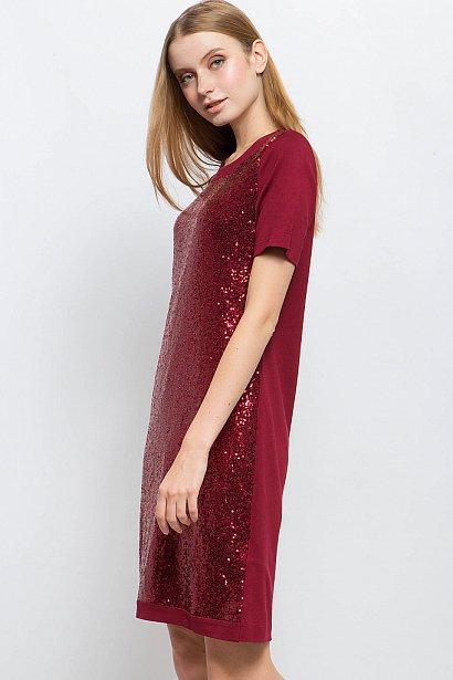 Платье женское, Модель W17-57023, Фото №4