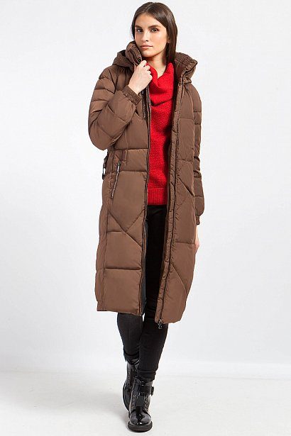 Пальто женское, Модель W17-12021, Фото №3
