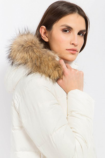 Пуховик женский, Модель W17-11015, Фото №6