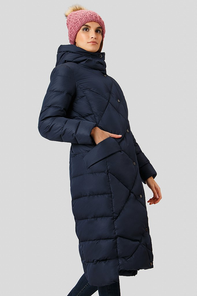 Пальто женское, Модель W18-11000, Фото №4