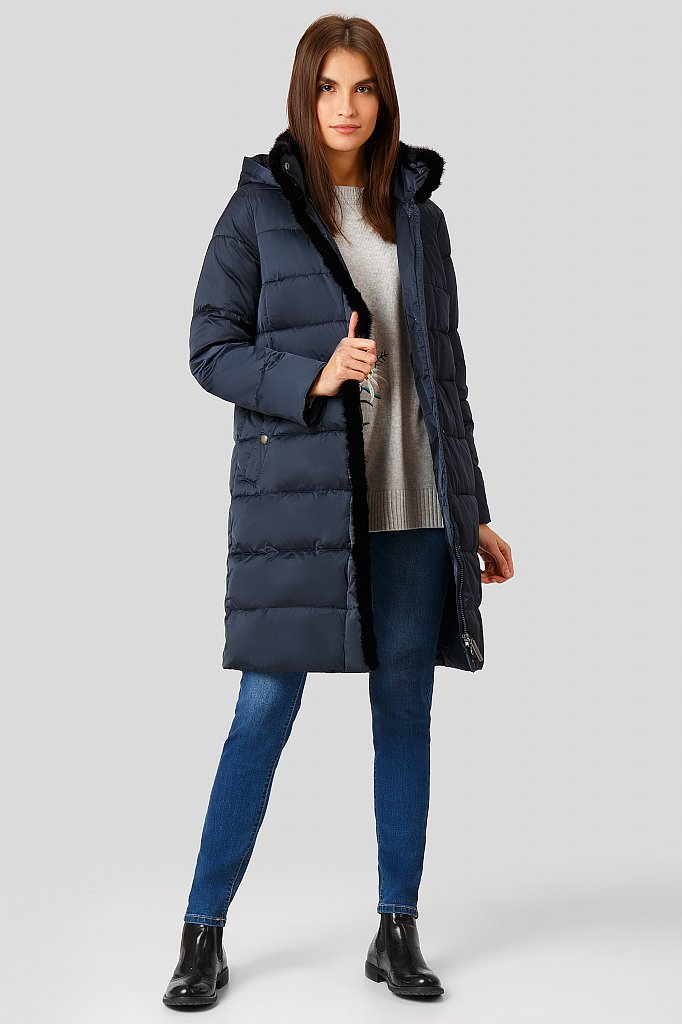 Пальто женское, Модель W18-11014, Фото №2
