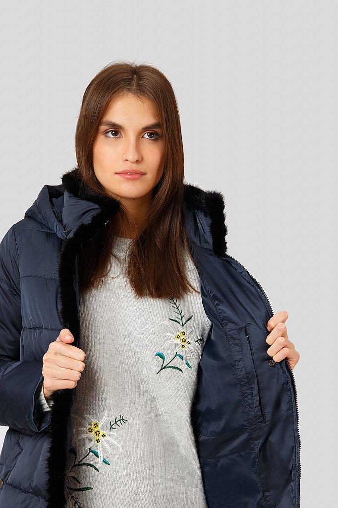Пальто женское, Модель W18-11014, Фото №6
