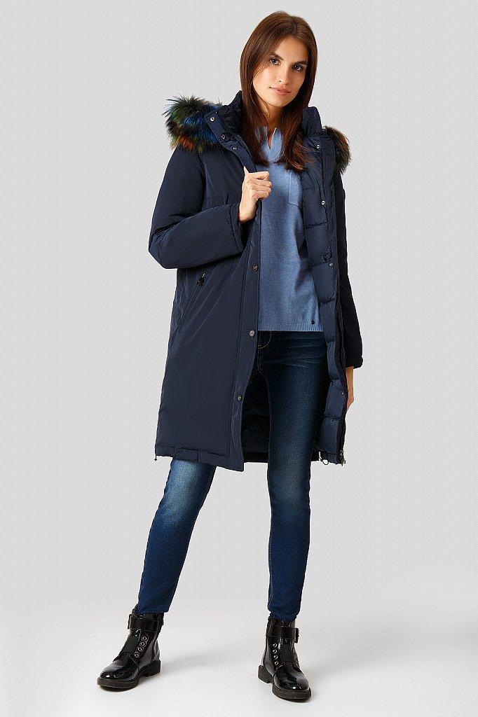 Пальто женское, Модель W18-12039, Фото №2