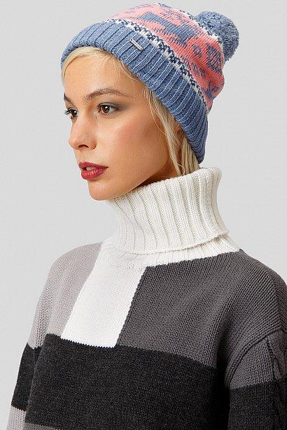 Шапка женская, Модель W18-12132, Фото №2