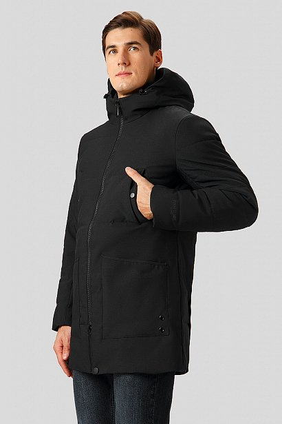 Полупальто мужское, Модель W18-22036, Фото №1