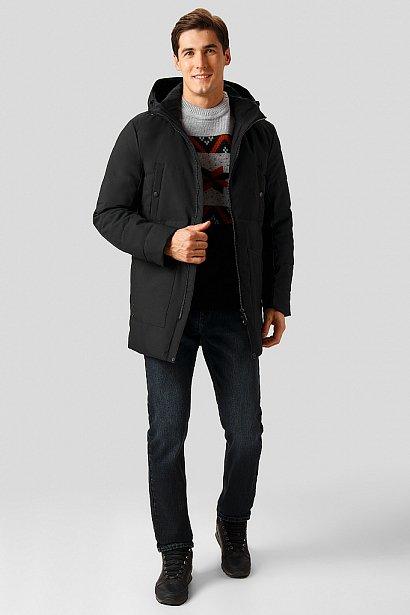 Полупальто мужское, Модель W18-22036, Фото №2