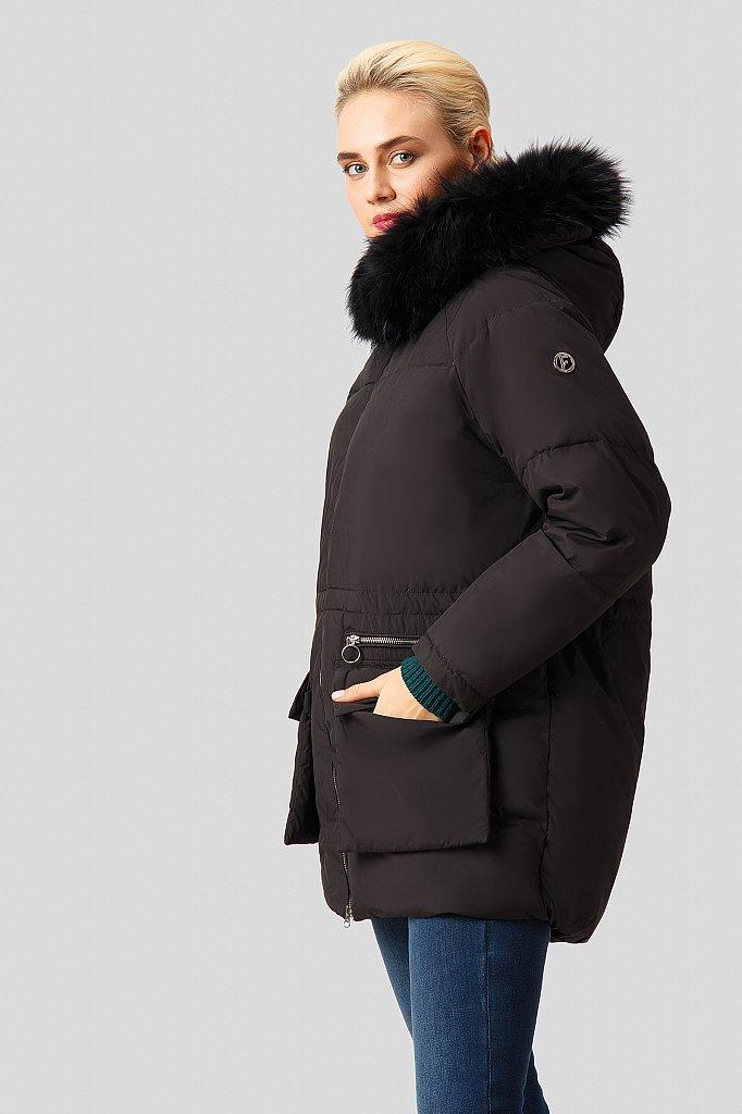 Полупальто женское, Модель W18-32021, Фото №4