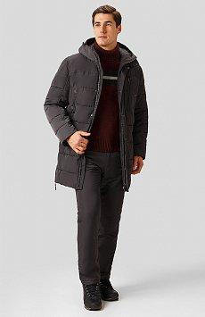 Полупальто мужское, Модель W18-21004, Фото №2